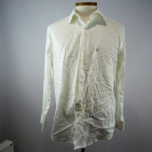 Alfani Athletic Fit Men's White Long Sleeve L NWT
